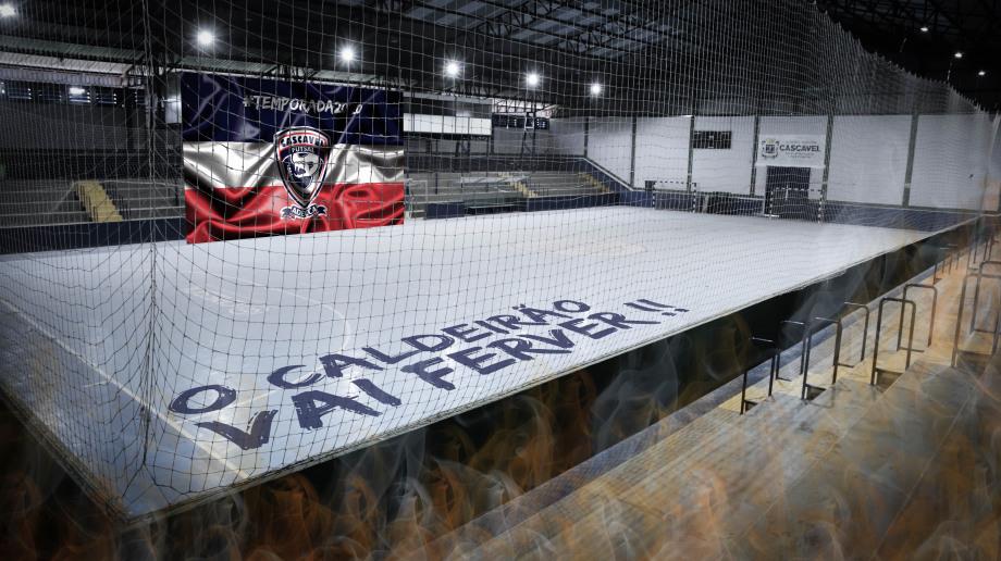 Em 2020 o Cascavel Futsal volta ao Ginásio da Neva