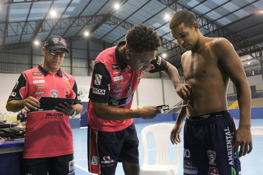 O Cascavel Futsal inicia a temporada 2020 com as avaliações físicas dos atletas.