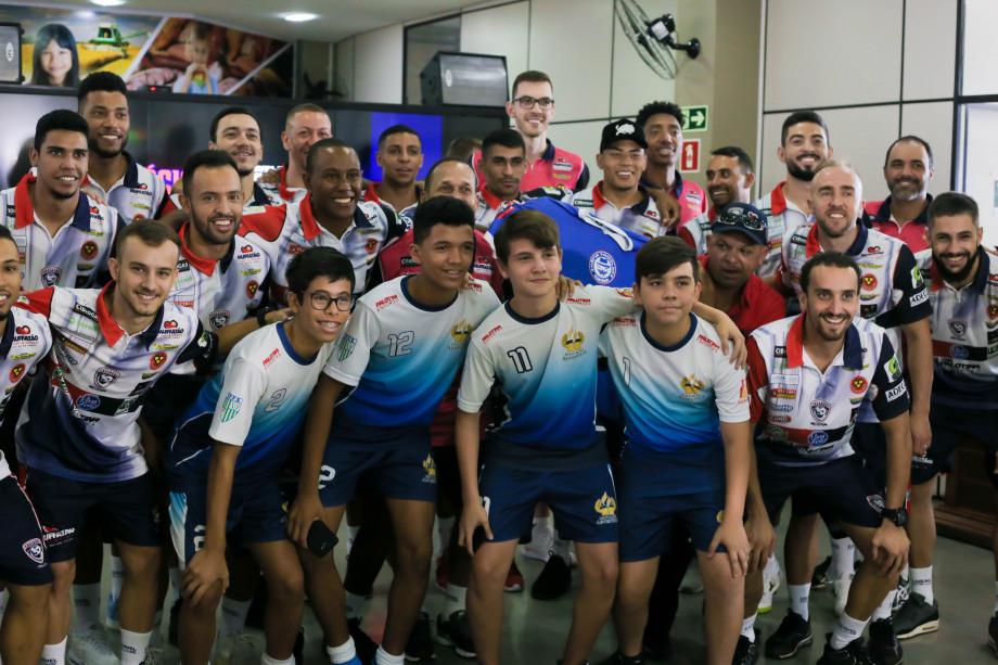 O Cascavel Futsal apresenta o elenco para temporada 2020